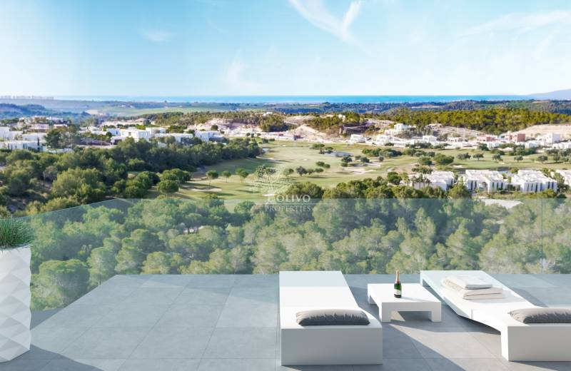 New Luxury Apartments with golf & sea views Las Colinas Golf